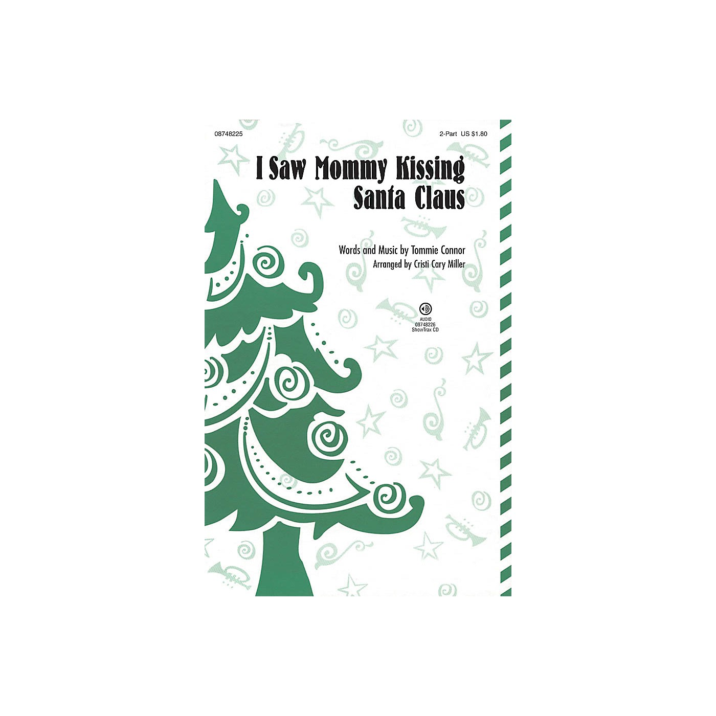Hal Leonard I Saw Mommy Kissing Santa Claus 2-Part arranged by Cristi Cary Miller thumbnail