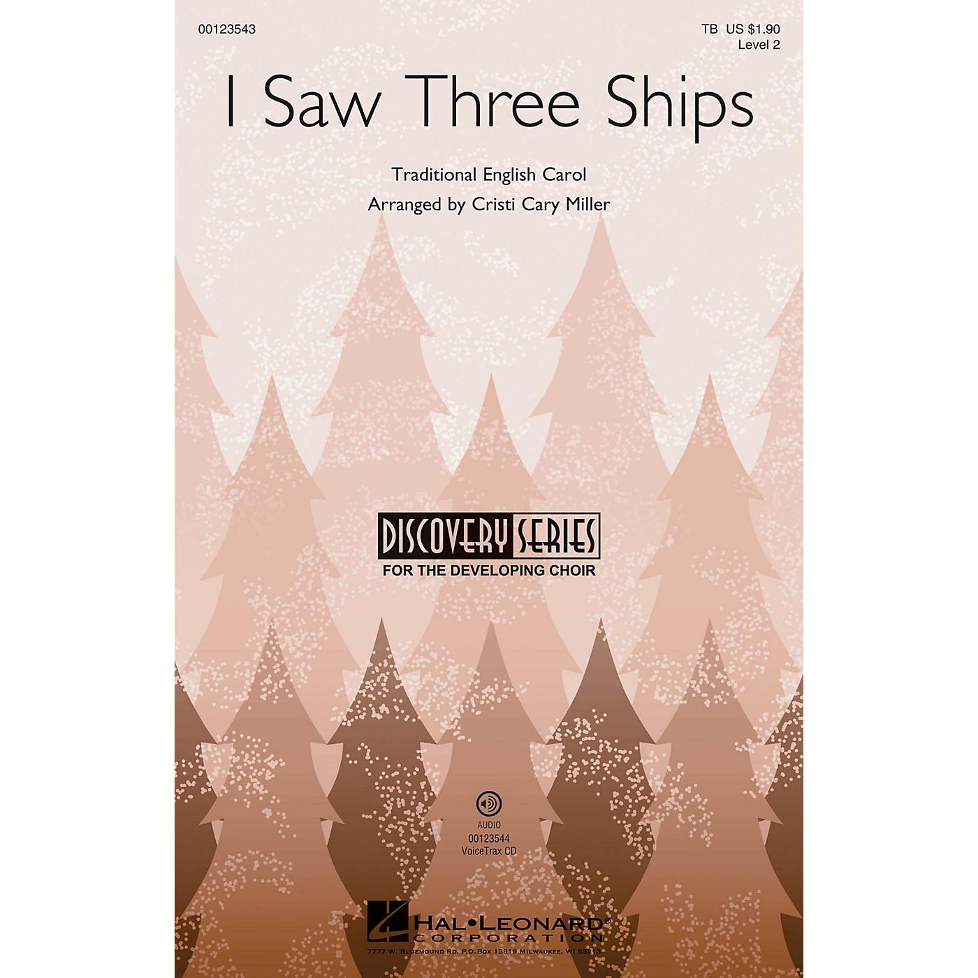 Hal Leonard I Saw Three Ships (Discovery Level 2) TB arranged by Cristi Cary Miller thumbnail