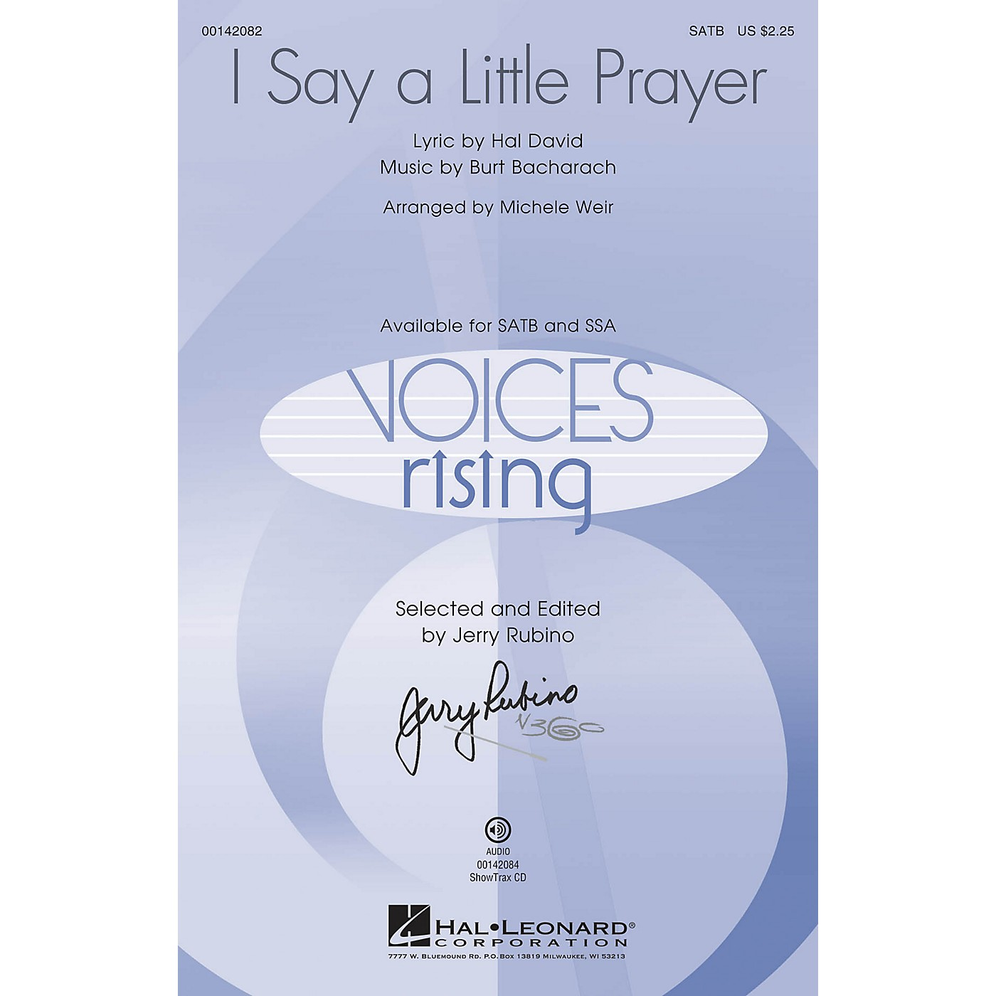 Hal Leonard I Say a Little Prayer ShowTrax CD by Dionne Warwick Arranged by Michele Weir thumbnail