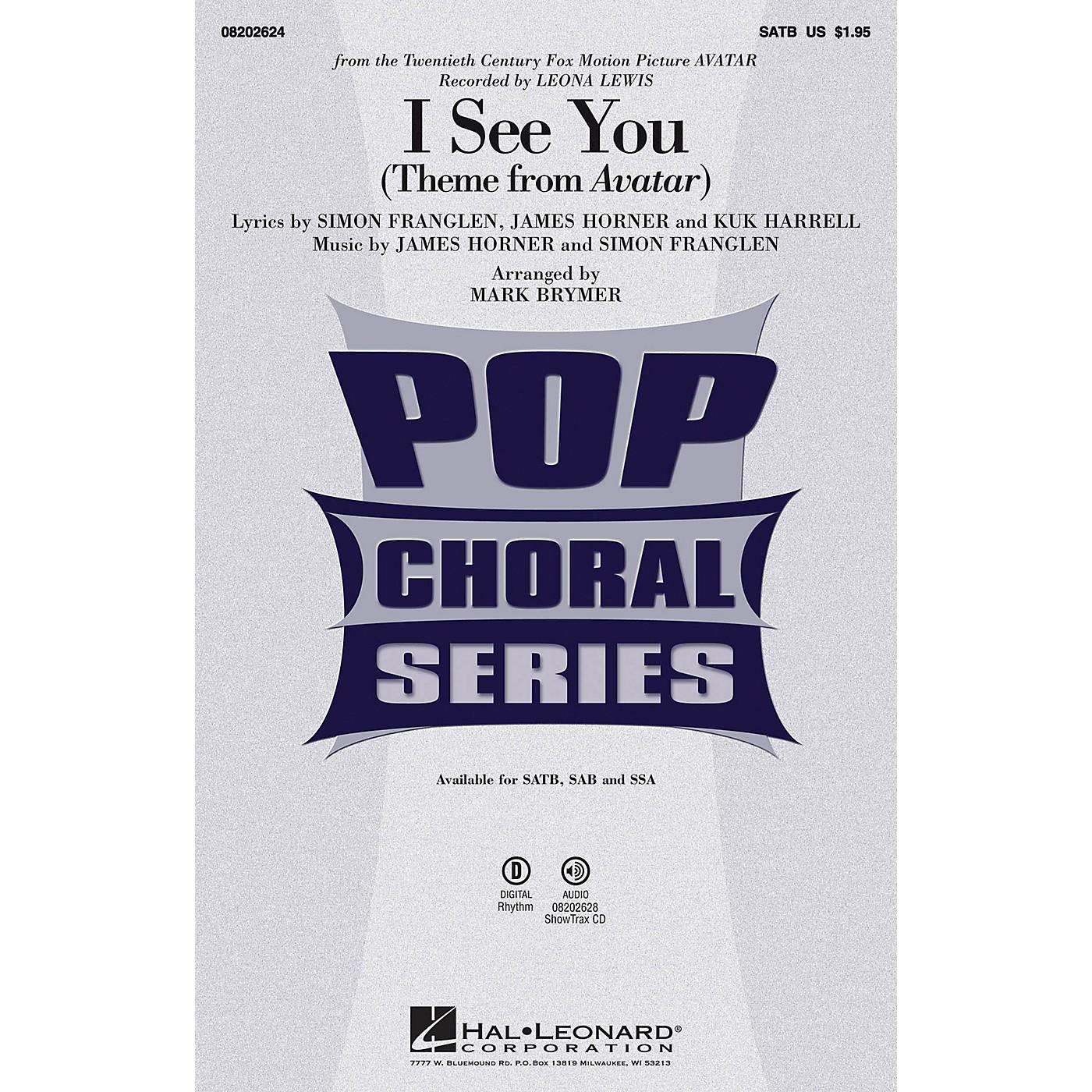 Hal Leonard I See You SAB by Leona Lewis Arranged by Mark Brymer thumbnail