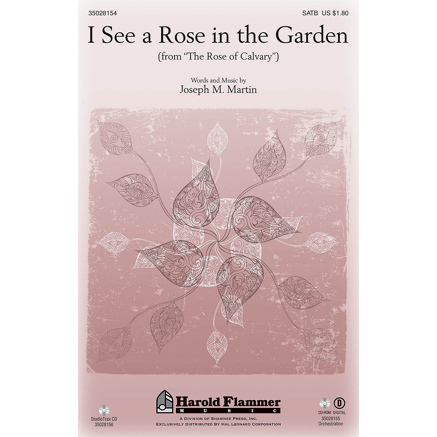 Shawnee Press I See a Rose in the Garden (from The Rose of Calvary) Studiotrax CD Composed by Joseph M. Martin thumbnail