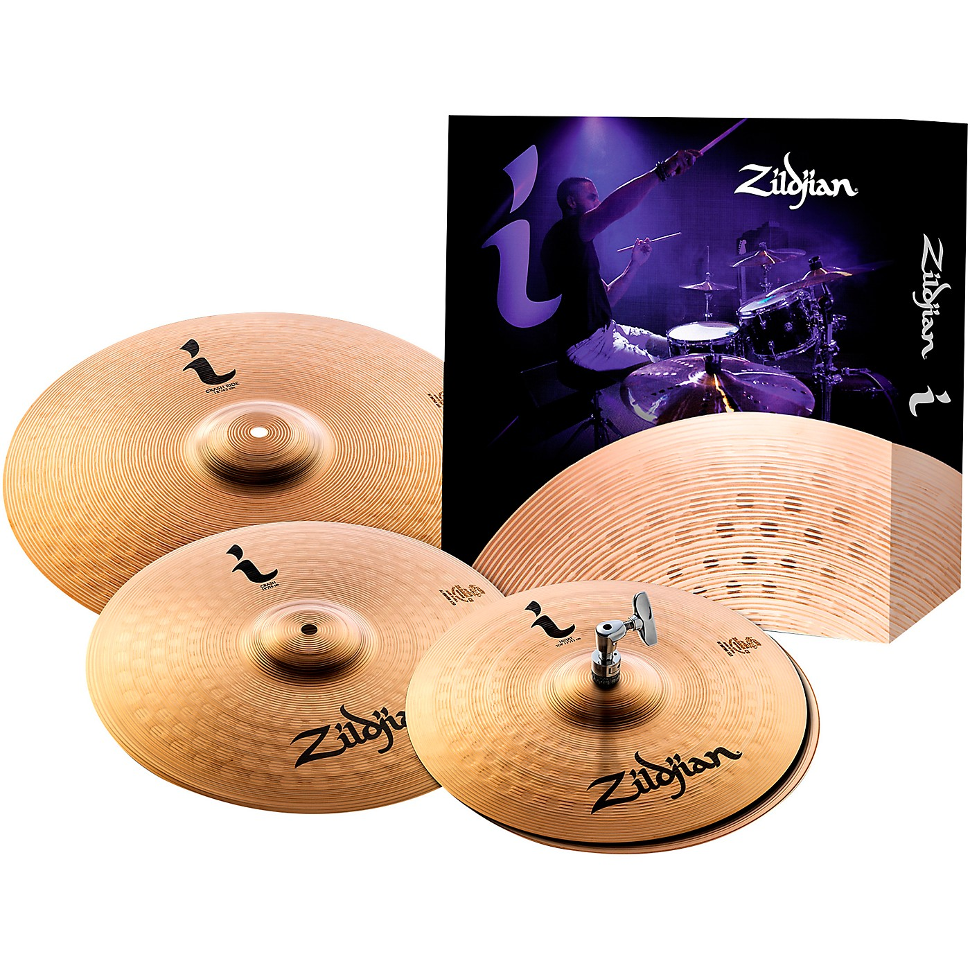 Zildjian I Series Essentials Plus Cymbal Pack thumbnail
