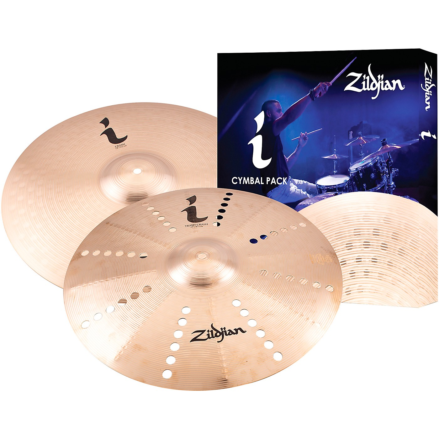 Zildjian I Series Expression Cymbal Pack 2 thumbnail