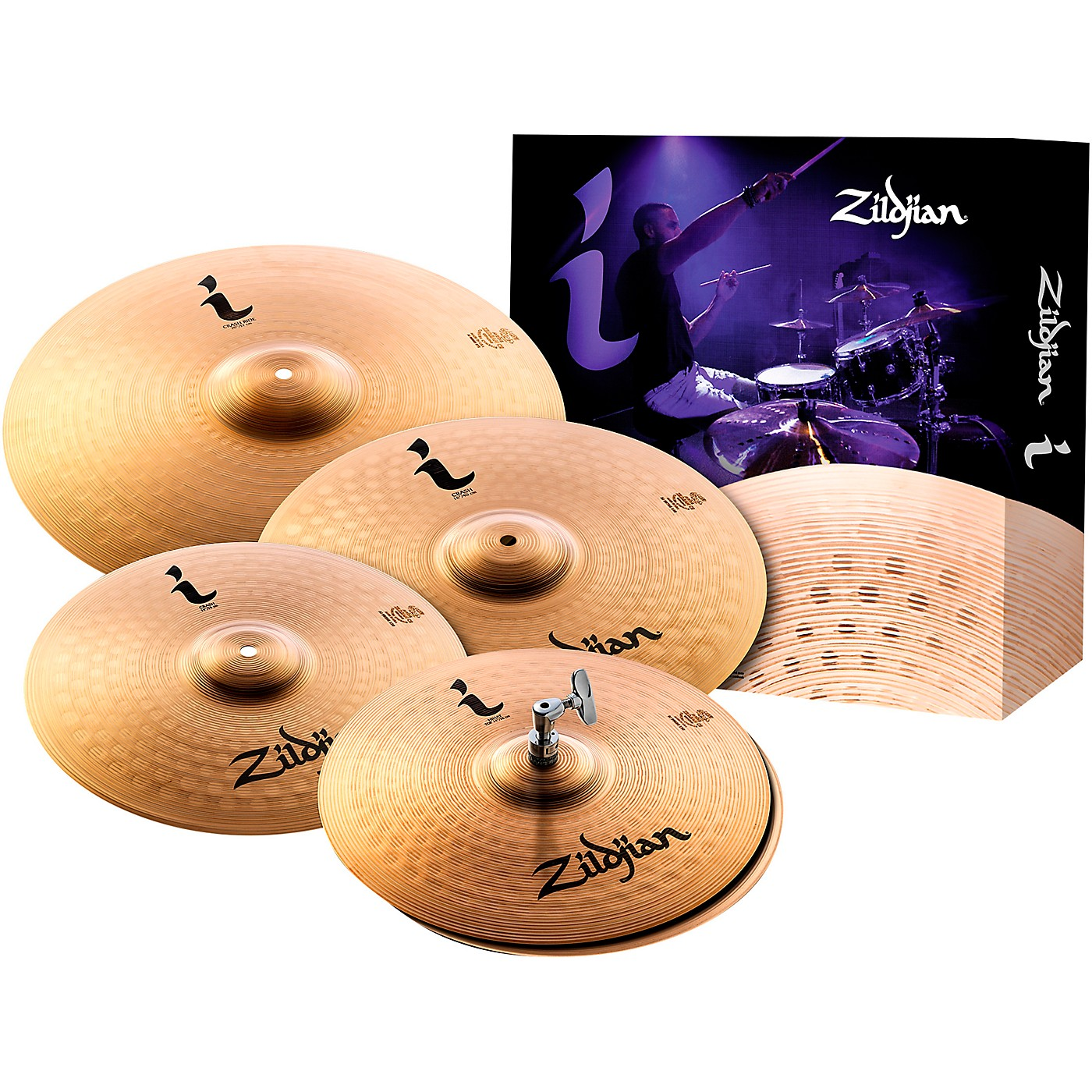 Zildjian I Series Pro 5 Cymbal Set thumbnail