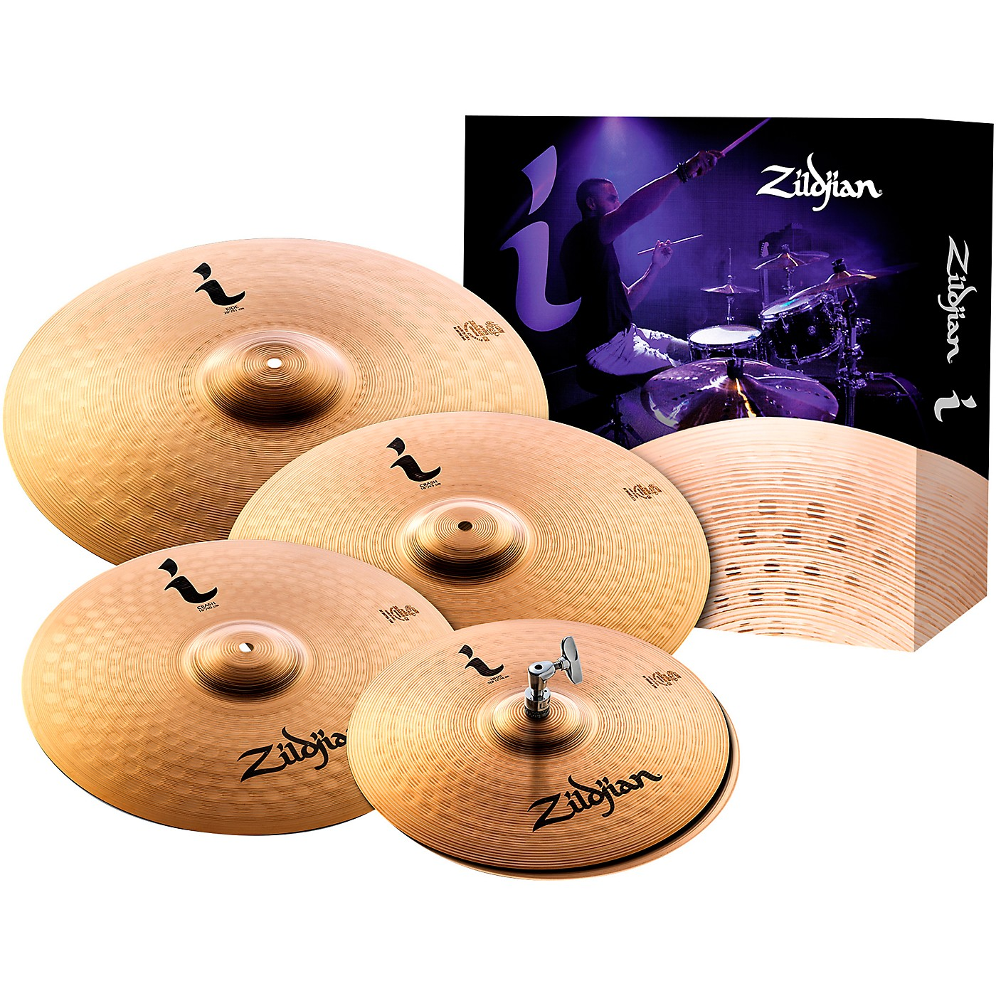 Zildjian I Series Pro Gig Cymbal Pack thumbnail