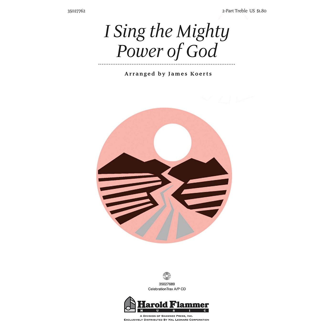 Shawnee Press I Sing the Mighty Power of God 2PT TREBLE arranged by James Koerts thumbnail