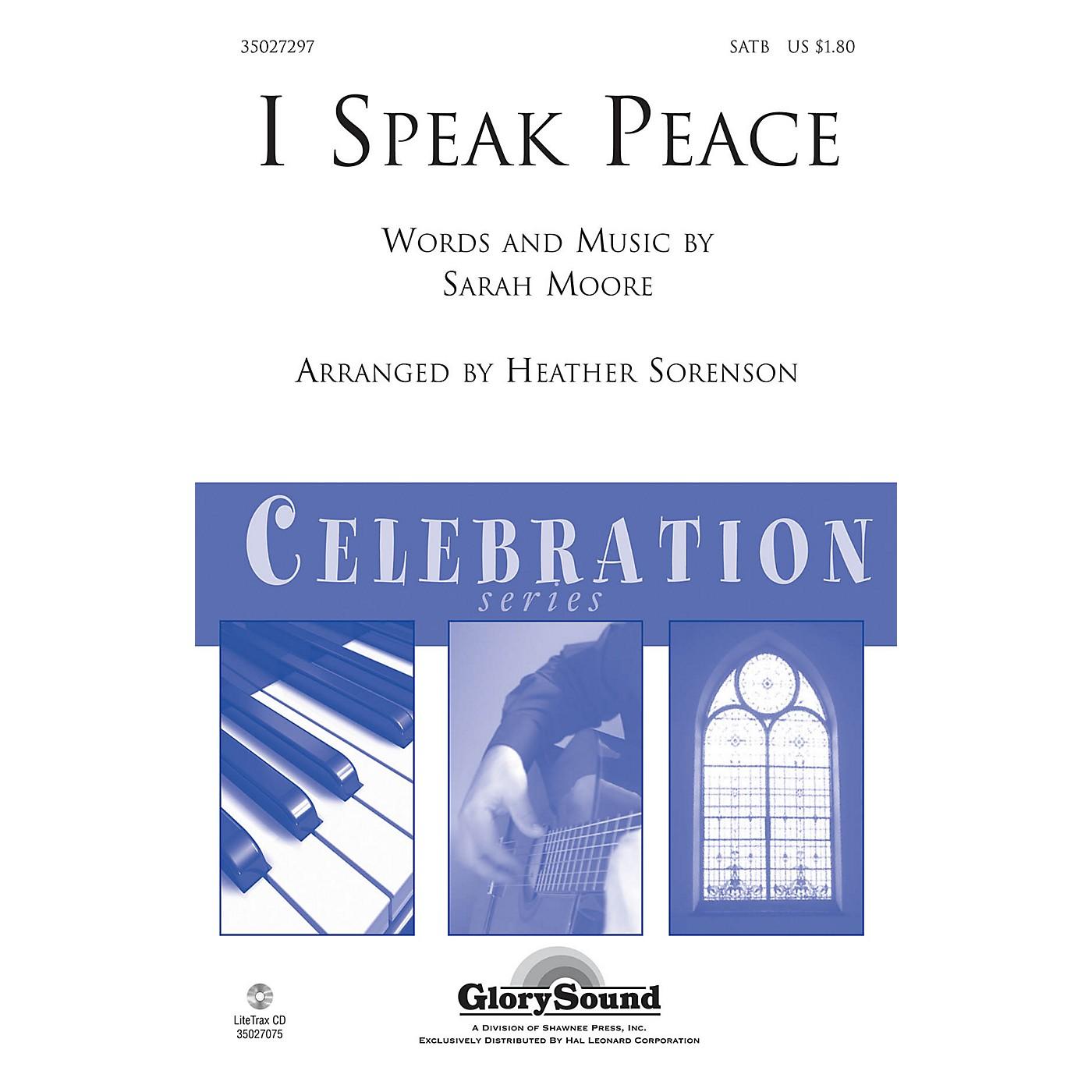 Shawnee Press I Speak Peace SATB arranged by Heather Sorenson thumbnail