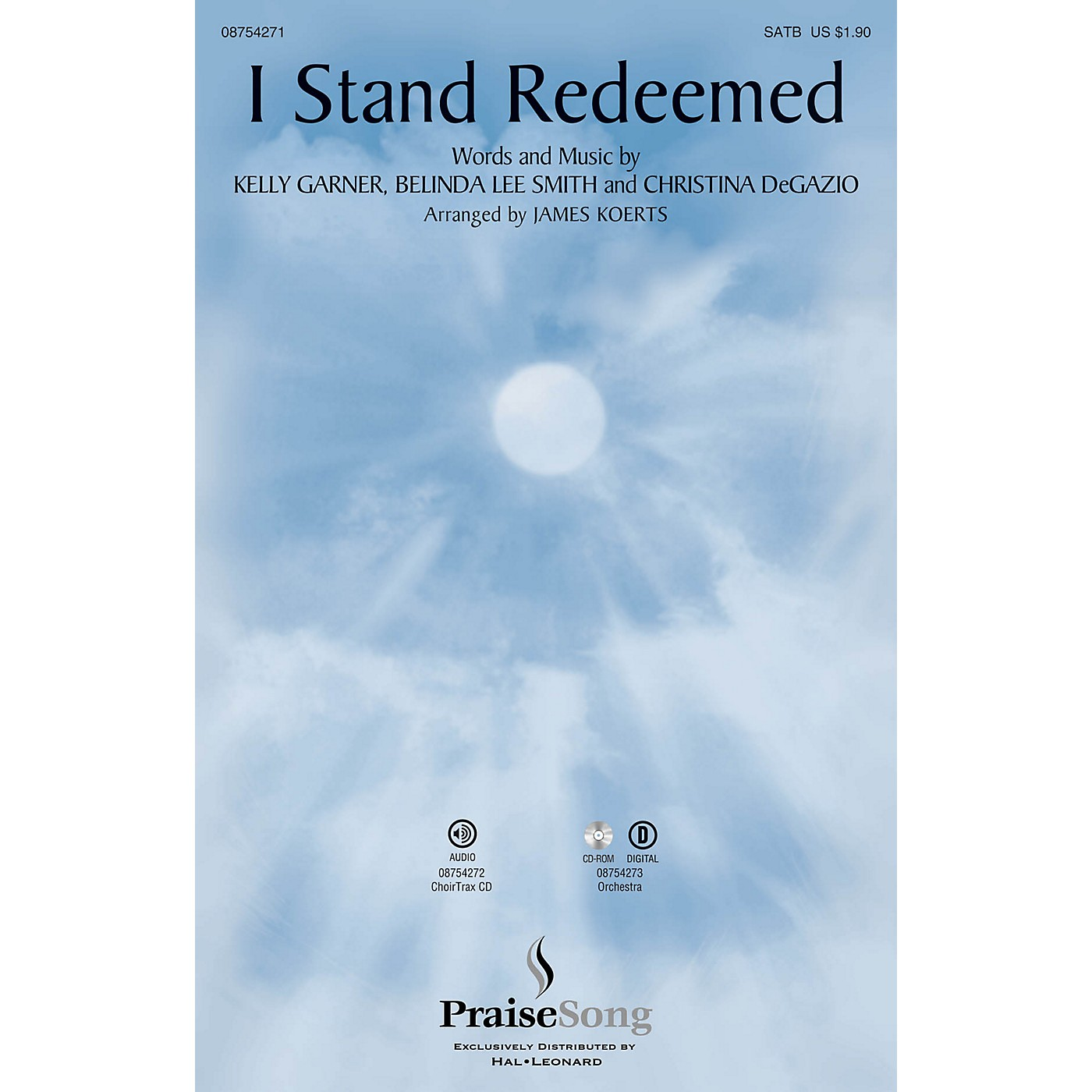 PraiseSong I Stand Redeemed CHOIRTRAX CD by Legacy Five Arranged by James Koerts thumbnail