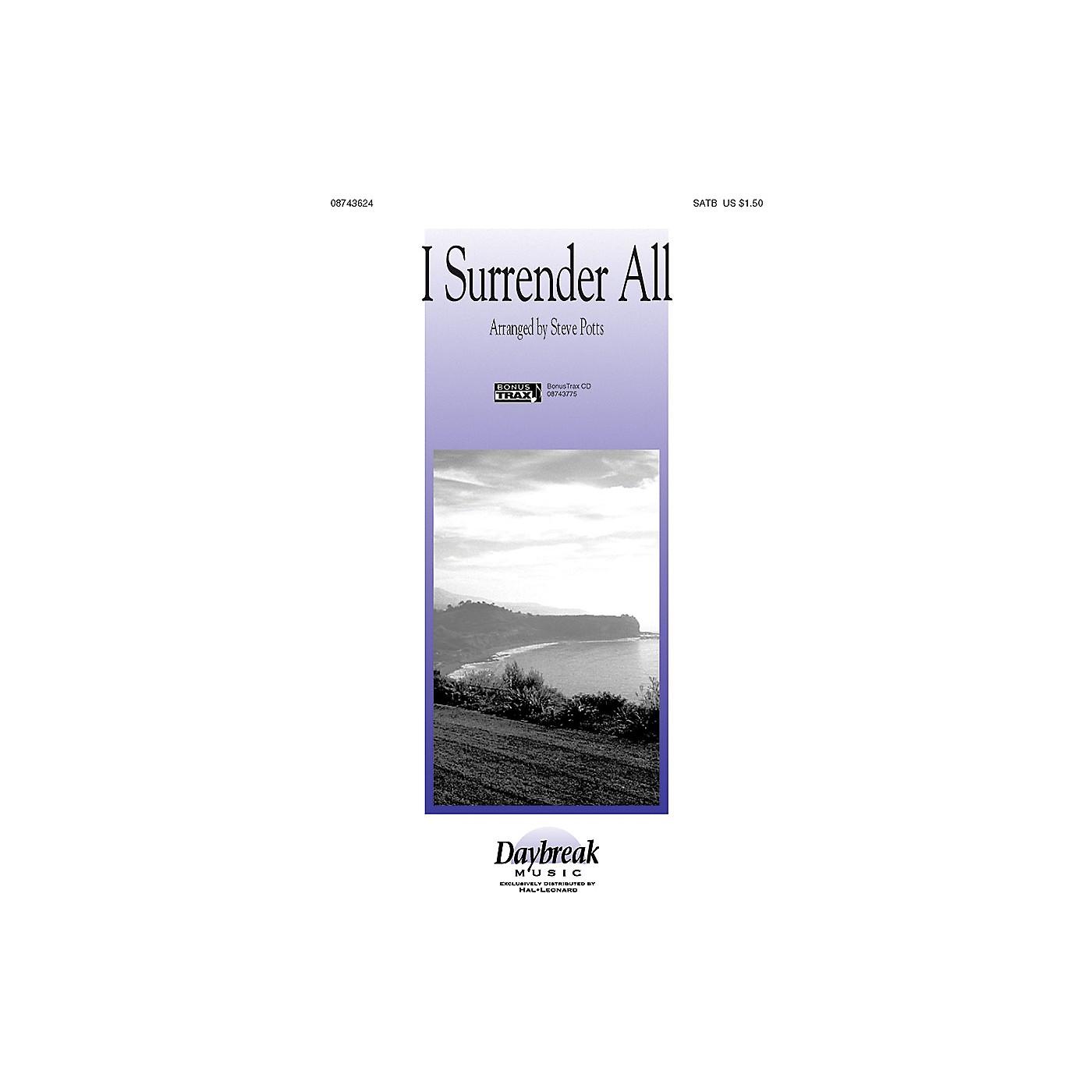 Hal Leonard I Surrender All SATB arranged by Steve Potts thumbnail