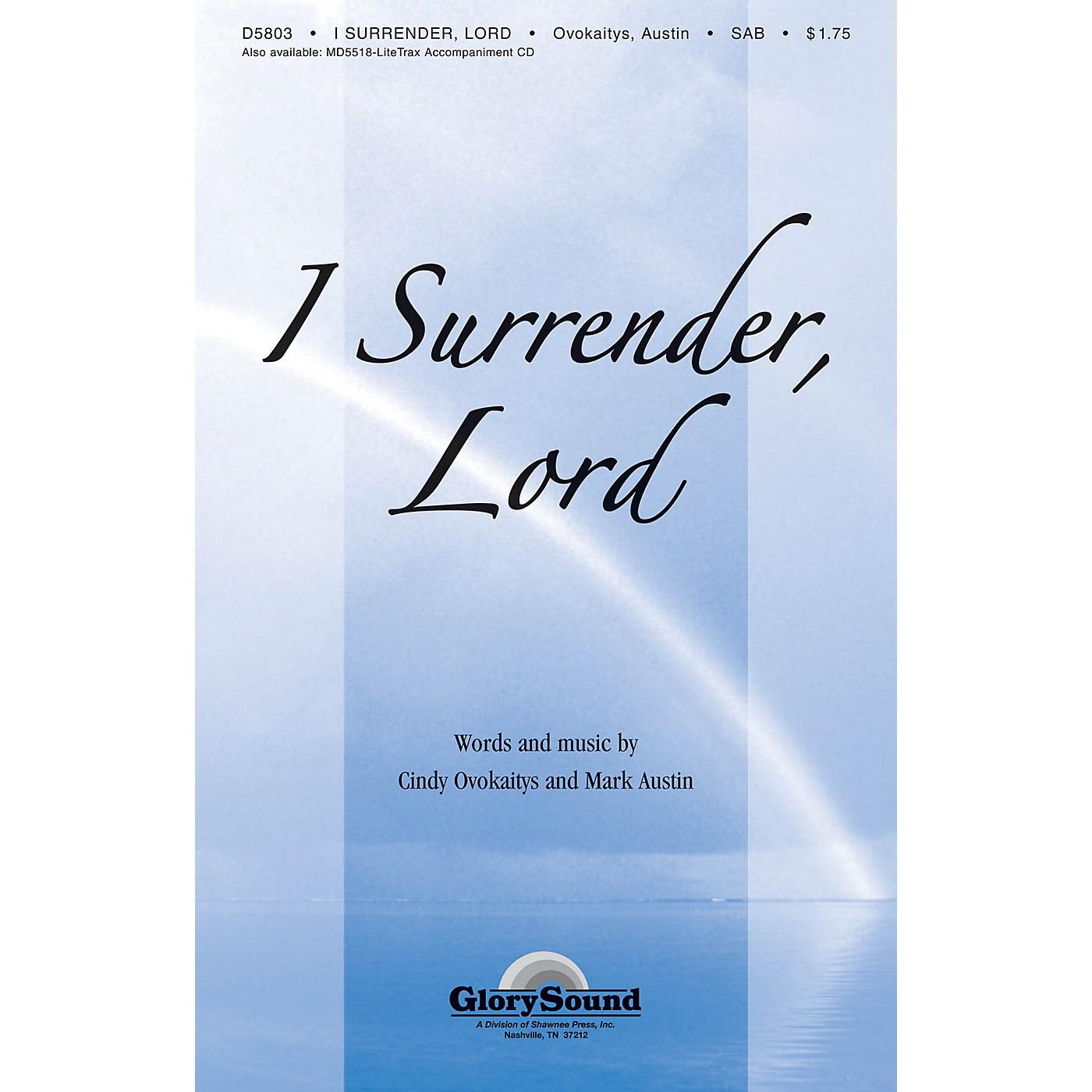 Shawnee Press I Surrender Lord SAB arranged by Mark Austin thumbnail