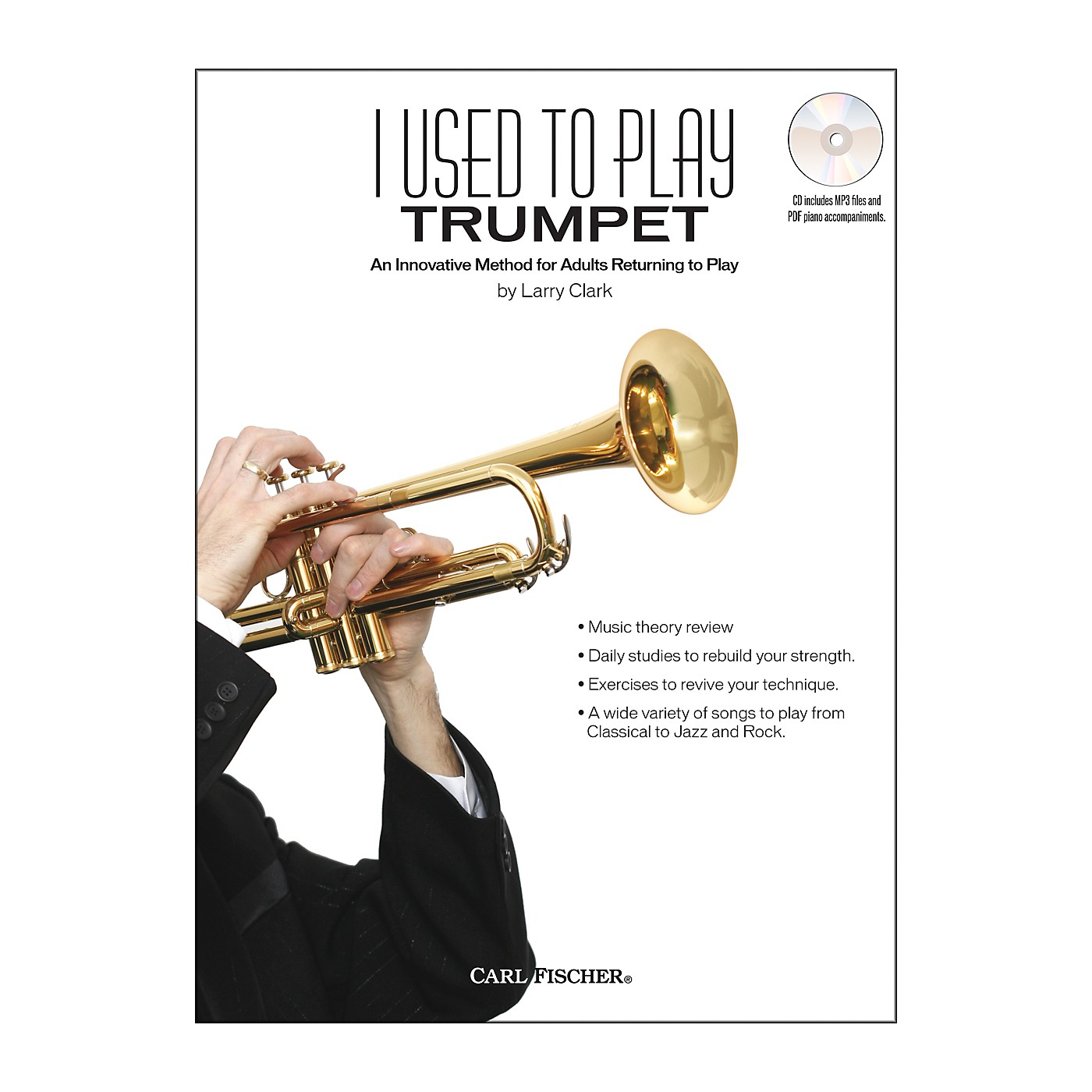 Carl Fischer I Used To Play Trumpet Book/CD thumbnail