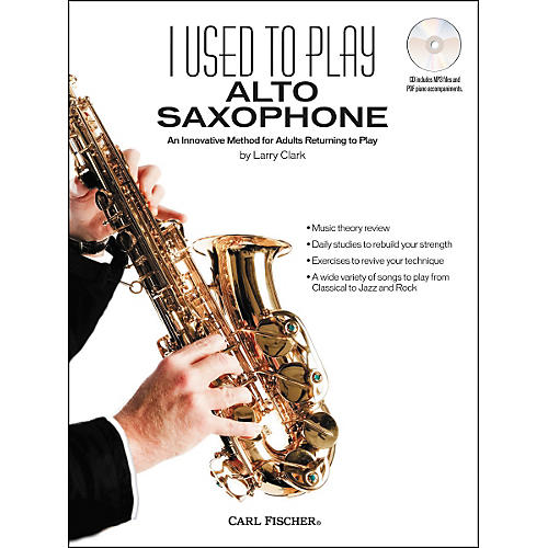 Carl Fischer I Used to Play Alto Sax Book/CD-thumbnail