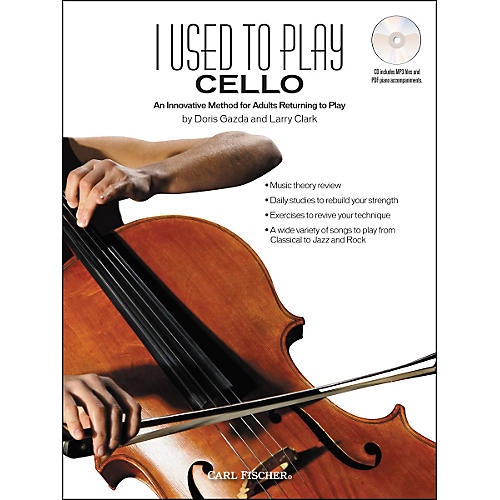 Carl Fischer I Used to Play Cello Book/CD thumbnail
