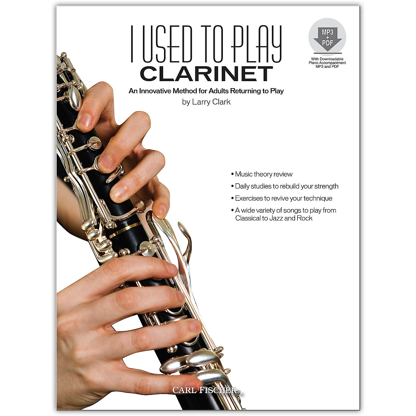 Carl Fischer I Used to Play Clarinet (Book/Online Audio) thumbnail