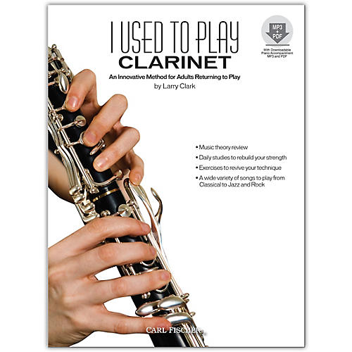 Carl Fischer I Used to Play Clarinet (Book/Online Audio)-thumbnail