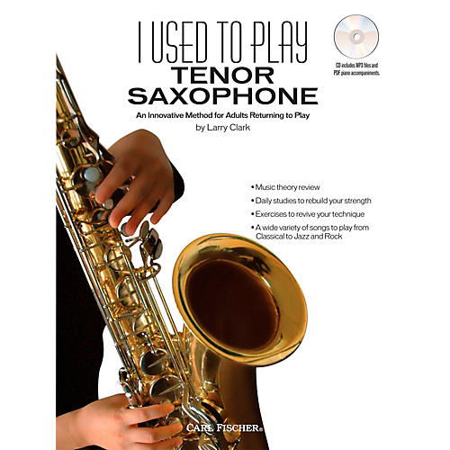 Carl Fischer I Used to Play Tenor Sax (Book + CD)-thumbnail