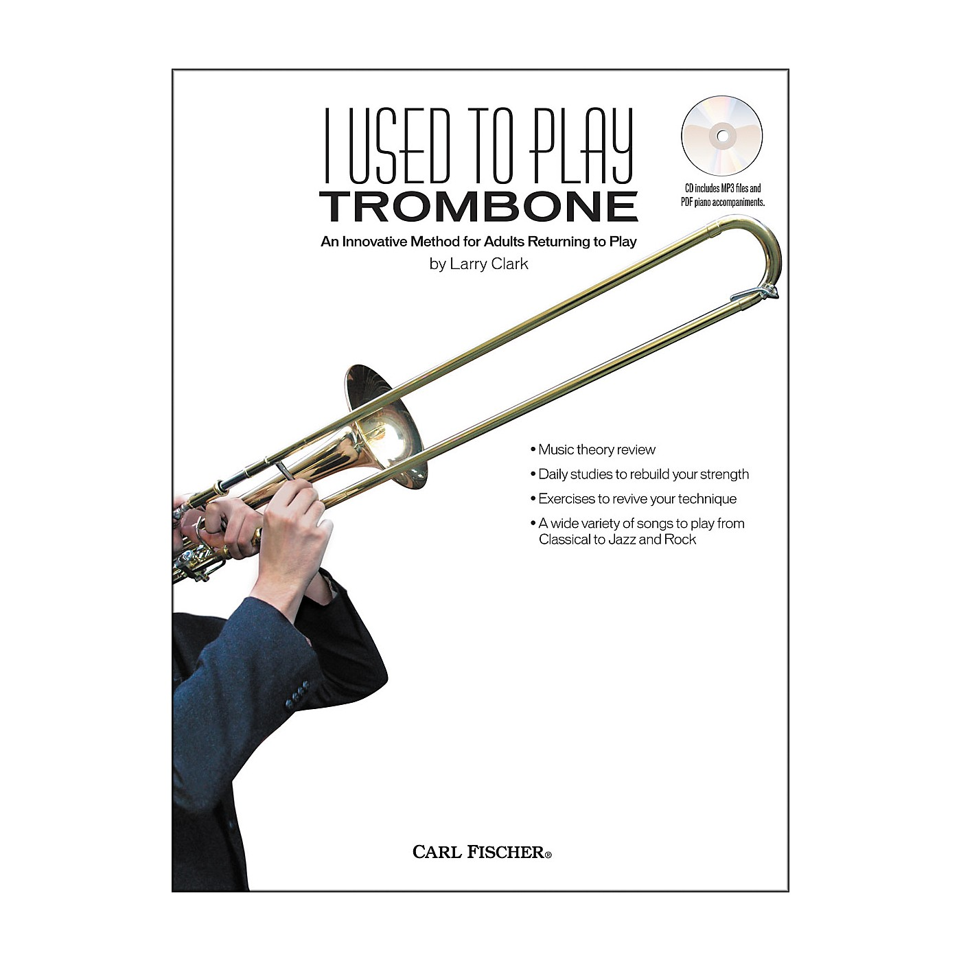 Carl Fischer I Used to Play Trombone Book/CD thumbnail