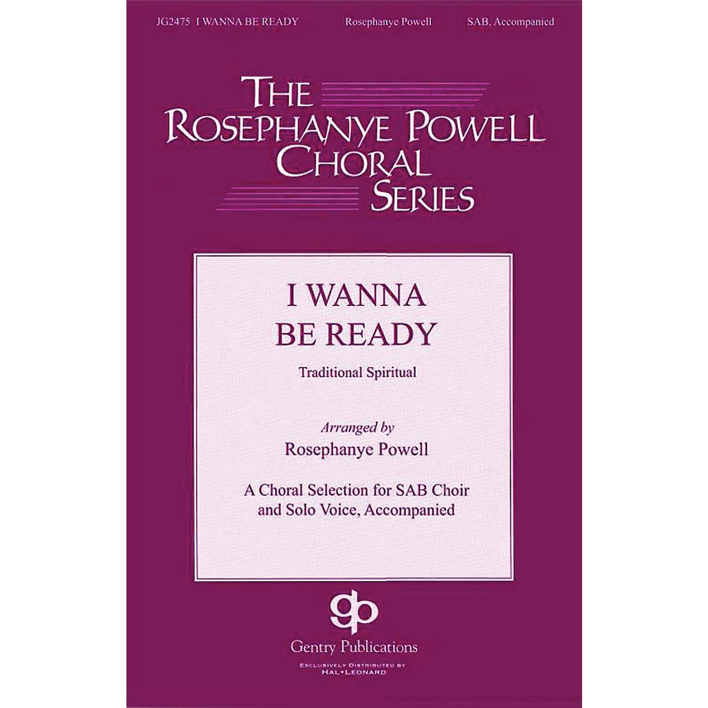 Gentry Publications I Wanna Be Ready SAB arranged by Rosephanye Powell thumbnail