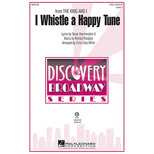 Hal Leonard I Whistle a Happy Tune (from The King and I Discovery Level 1) VoiceTrax CD by Cristi Cary Miller thumbnail