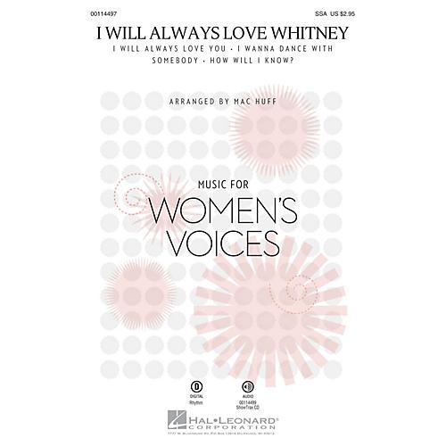 Hal Leonard I Will Always Love Whitney (ShowTrax CD) ShowTrax CD by Whitney Houston Arranged by Mac Huff thumbnail