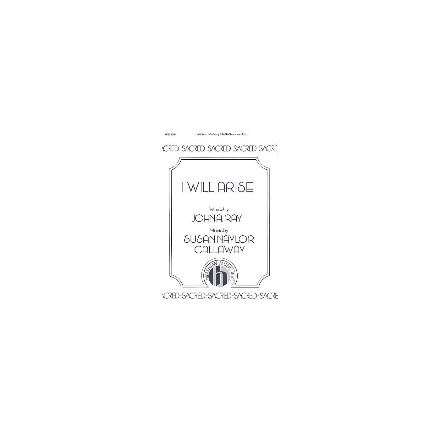 Hinshaw Music I Will Arise SATB composed by Susan Naylor Callaway thumbnail