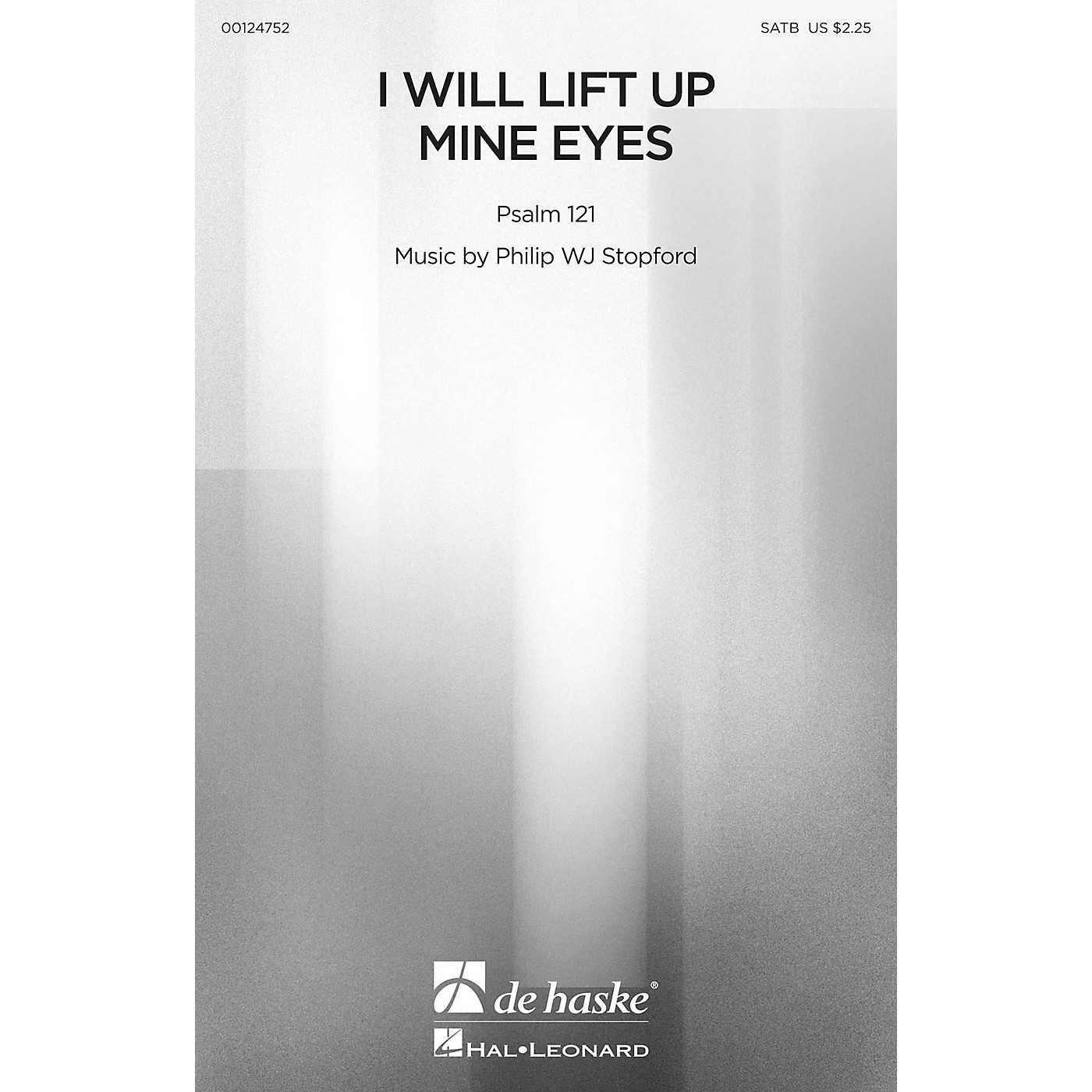 De Haske Music I Will Lift Up Mine Eyes SATB composed by Philip Stopford thumbnail