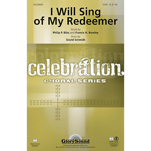 Shawnee Press I Will Sing of My Redeemer Studiotrax CD Composed by David Schmidt thumbnail