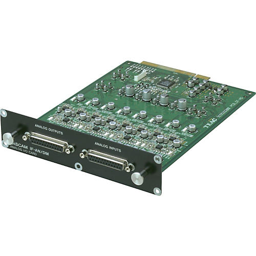 Tascam IF-AN/DM 8-Channel Analog I/O Expansion Card for SX-1/DM-24 thumbnail