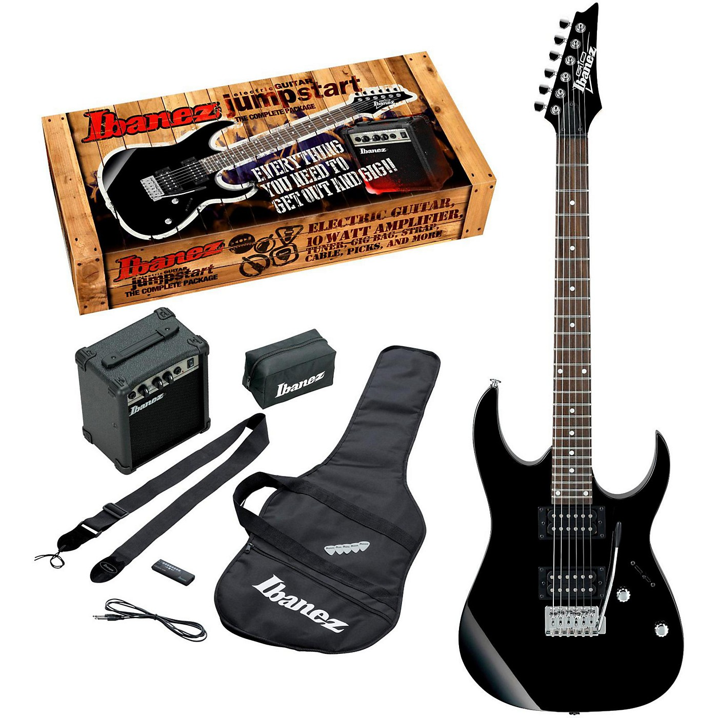 Ibanez IJRG220Z Electric Guitar Package thumbnail