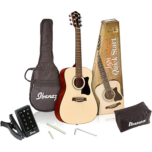 Ibanez IJV30 Quickstart 3/4 Acoustic Guitar Pack thumbnail