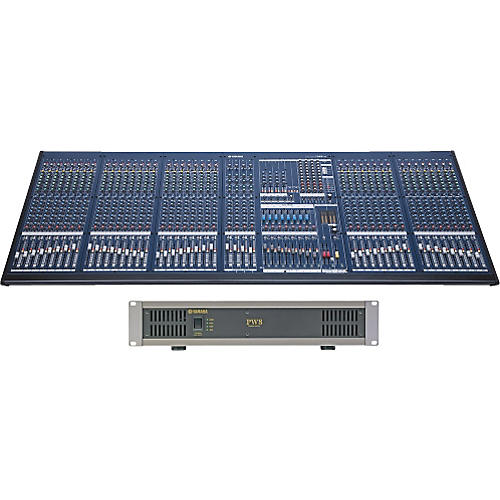 Yamaha IM8-40 Mixing Console with Power Supply thumbnail