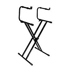Ultimate Support IQ-2200 2-Tier Double-Braced X-Style Keyboard Stand