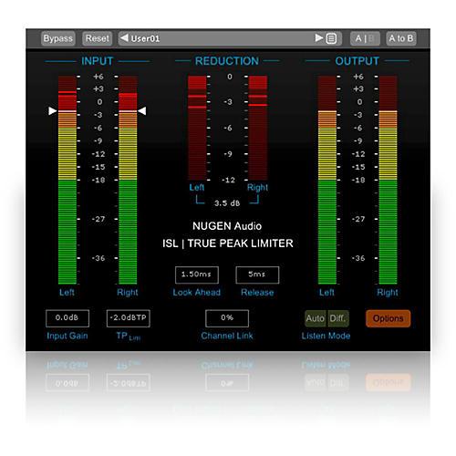 NuGen Audio ISL True-Peak limiter Software Download thumbnail