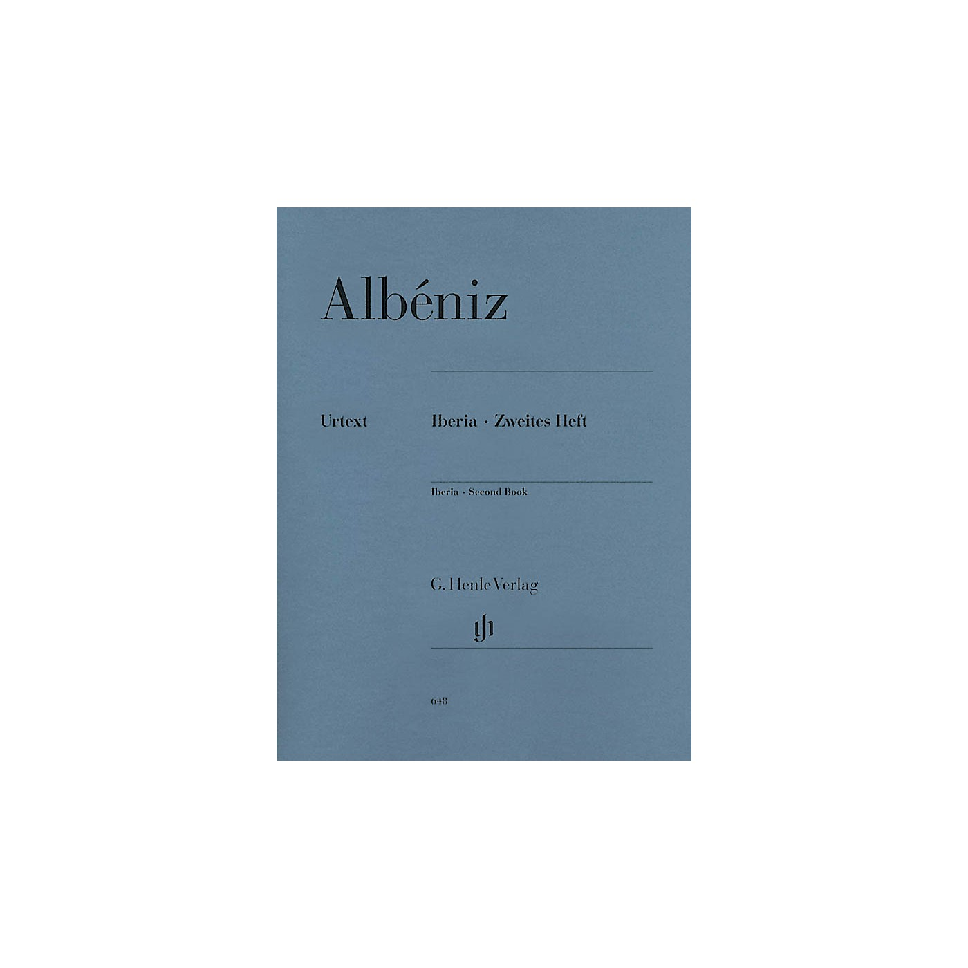 G. Henle Verlag Iberia - Second Book Henle Music Folios Series Softcover thumbnail