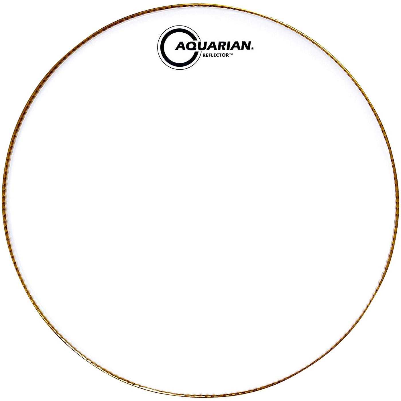 Aquarian Ice White Reflector Drum Head thumbnail