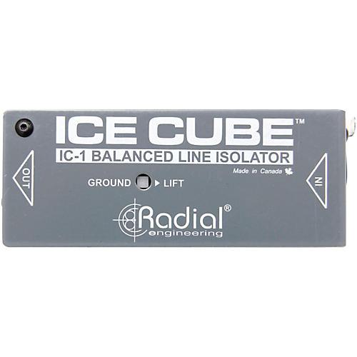 Radial Engineering IceCube IC-1 Balanced Line Isolator and Hum Eliminator thumbnail