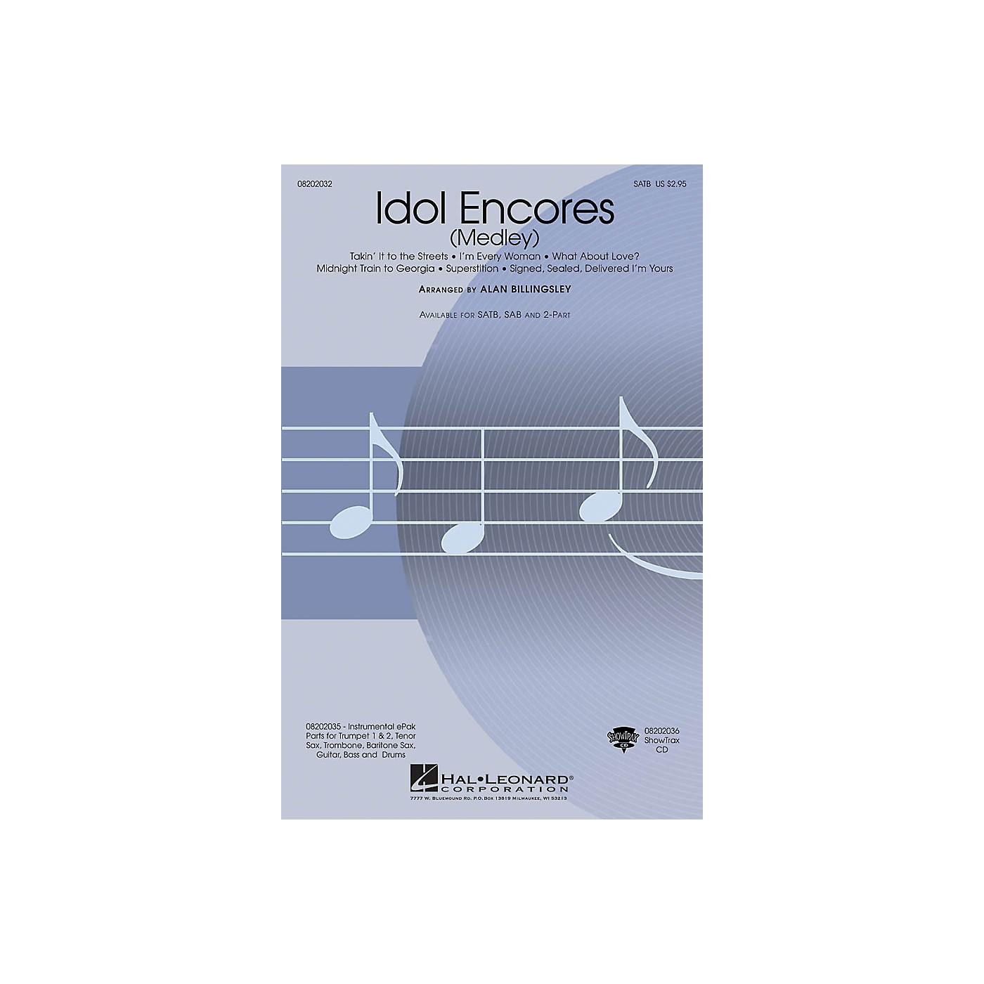 Hal Leonard Idol Encores ShowTrax CD Arranged by Alan Billingsley thumbnail