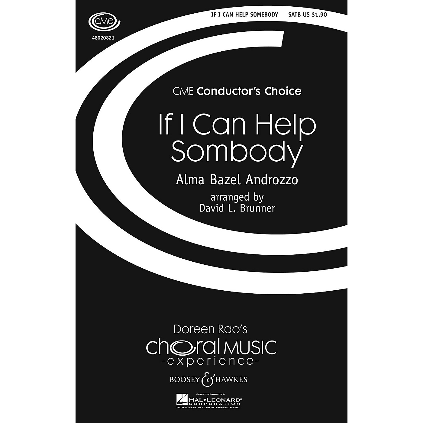 Boosey and Hawkes If I Can Help Somebody (CME Conductor's Choice) SATB arranged by David Brunner thumbnail