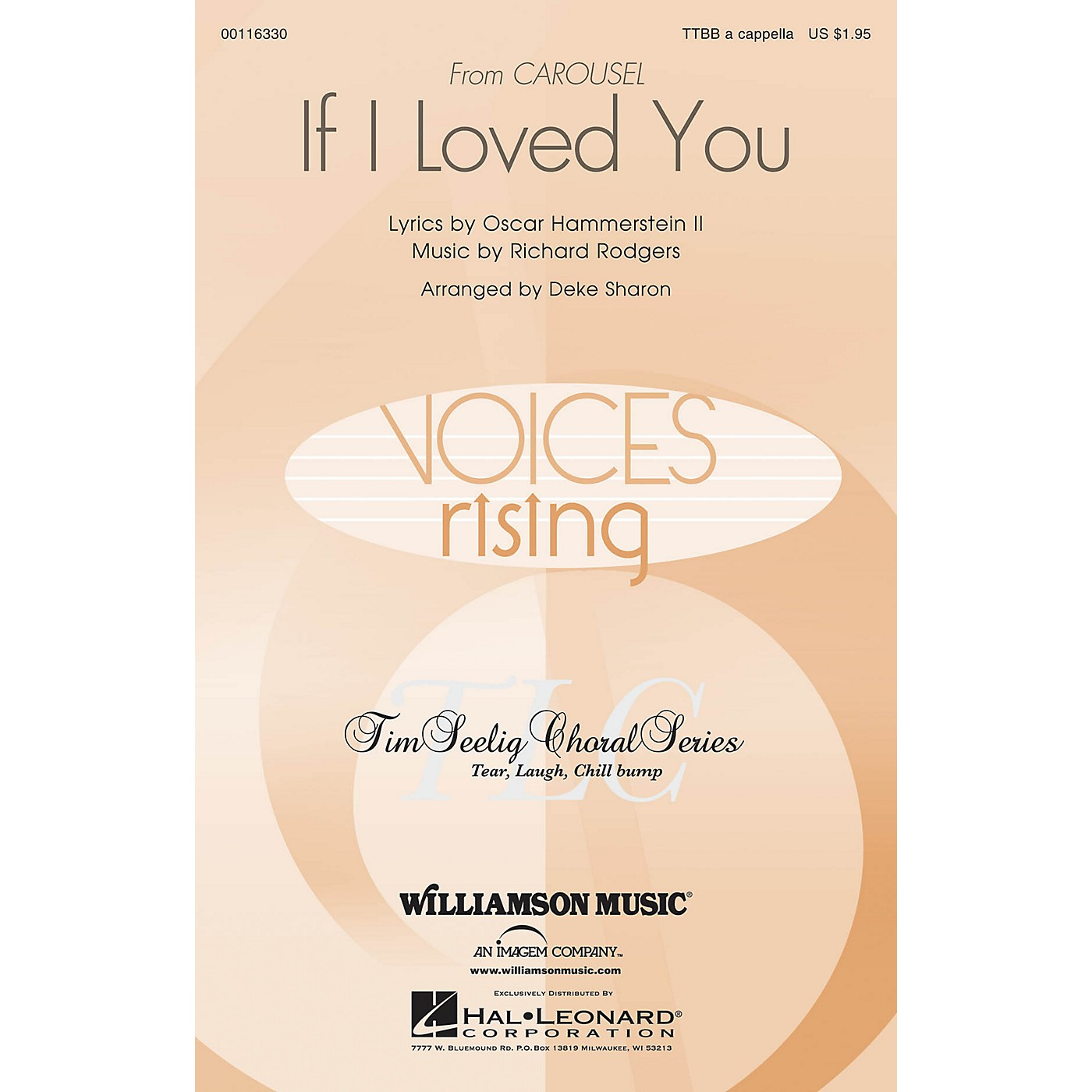 Hal Leonard If I Loved You (from Carousel) TTBB A Cappella arranged by Deke Sharon thumbnail