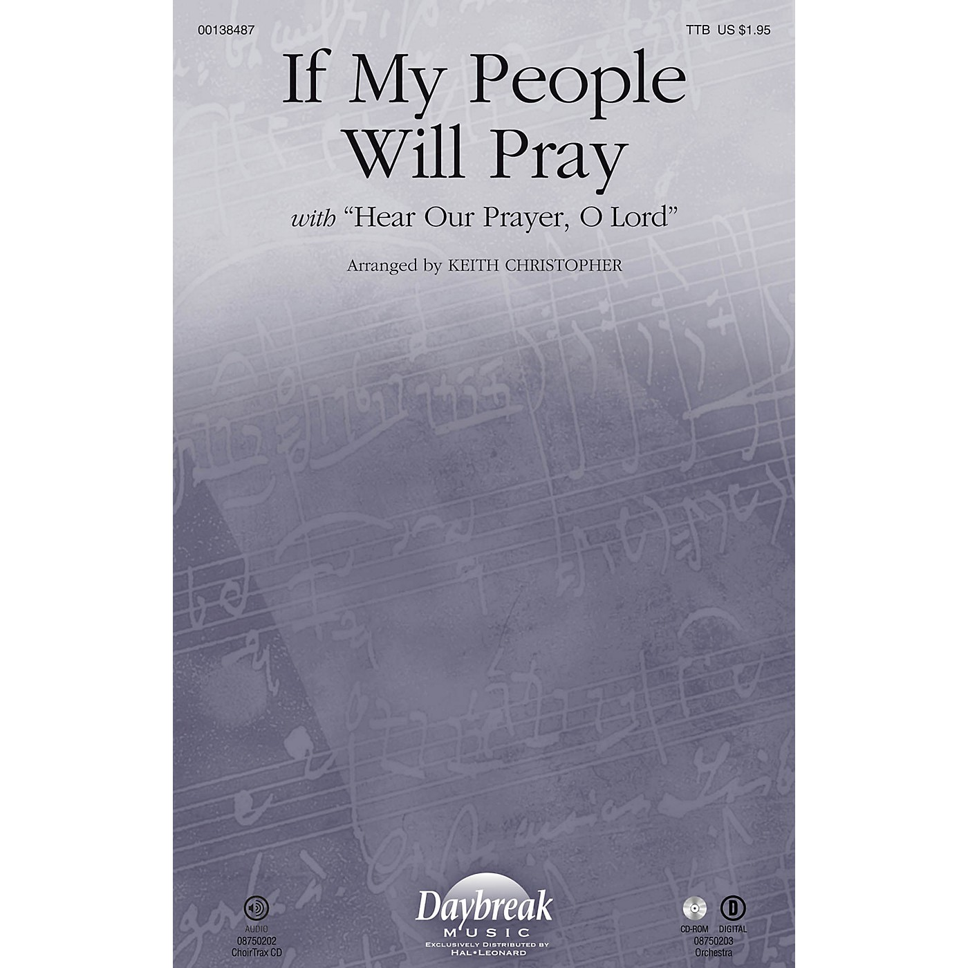 Daybreak Music If My People Will Pray (with Hear Our Prayer, O Lord) TTB arranged by Keith Christopher thumbnail