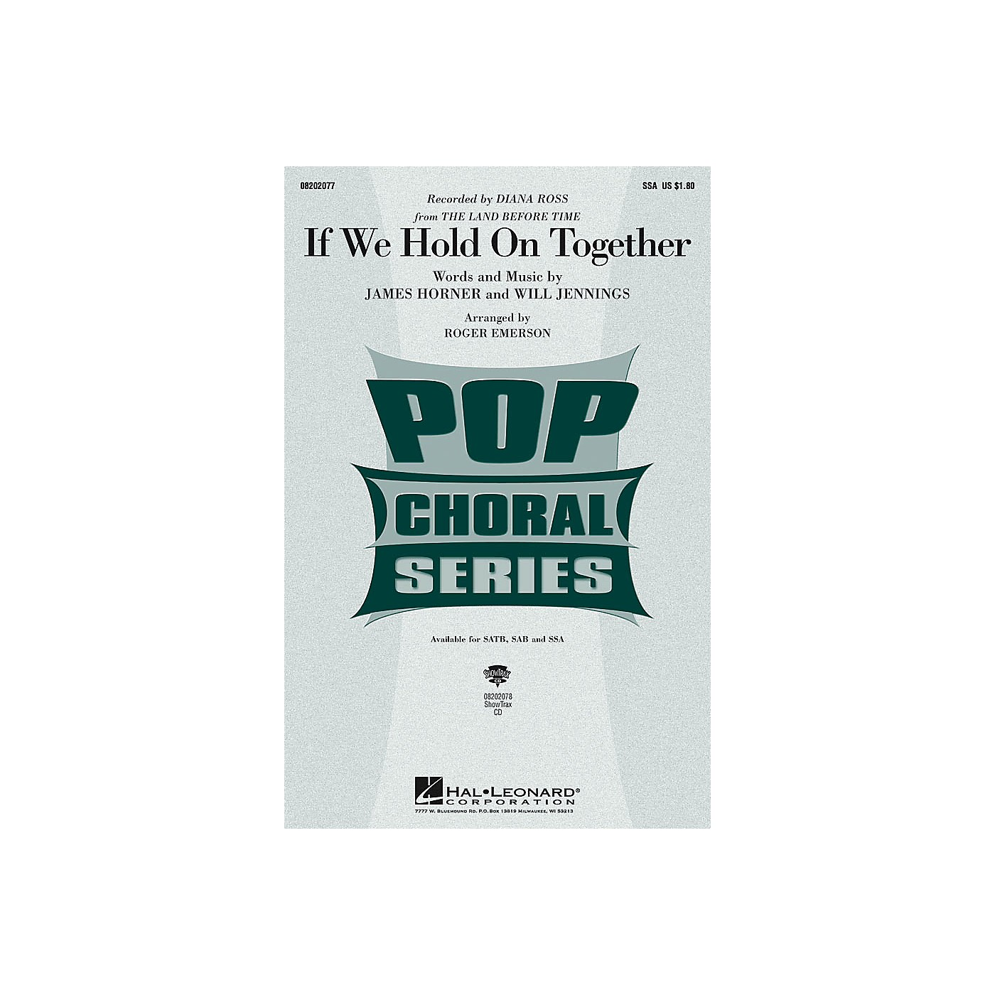 Hal Leonard If We Hold On Together SSA by Diana Ross arranged by Roger Emerson thumbnail