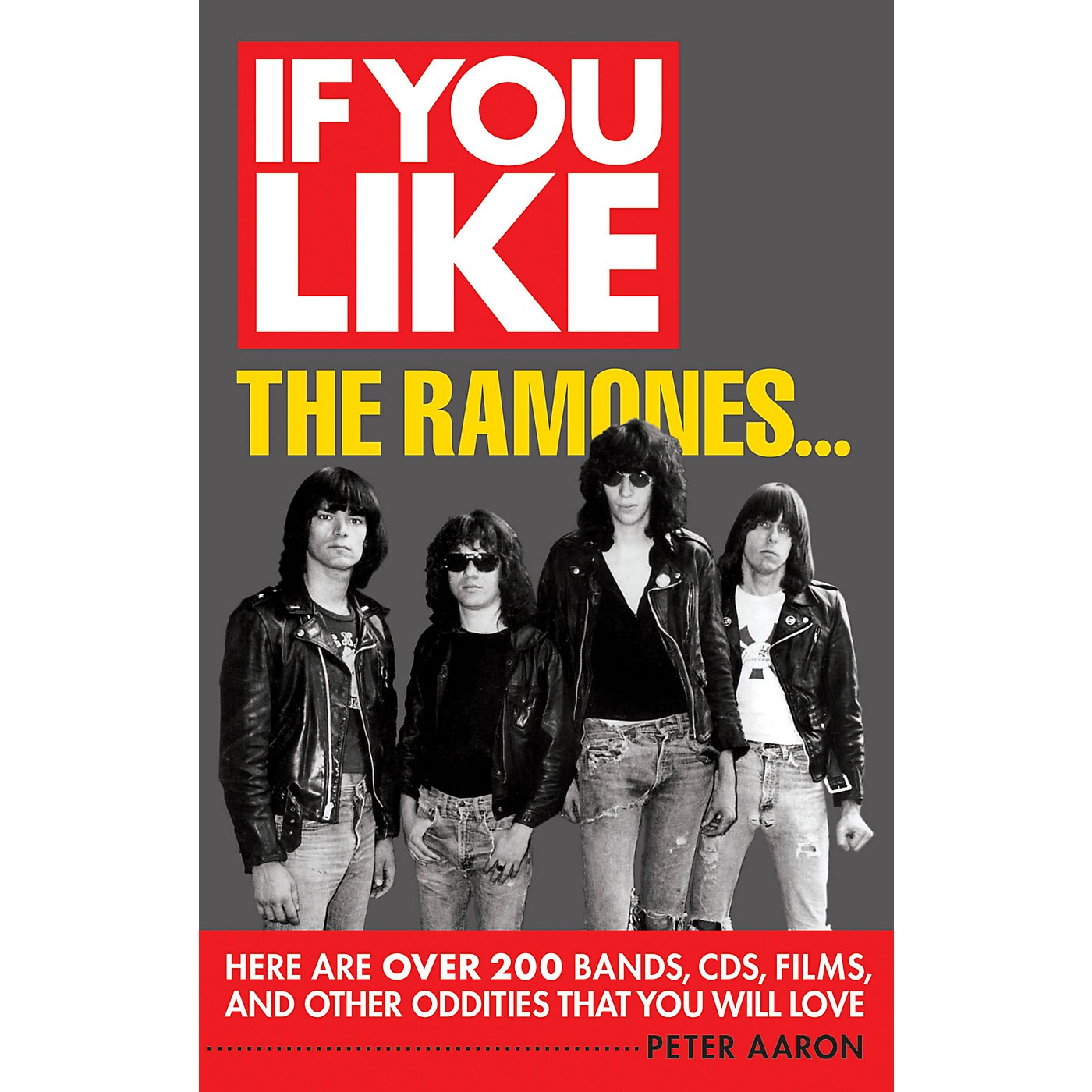 Backbeat Books If You Like the Ramones... If You Like Series Softcover Written by Peter Aaron thumbnail