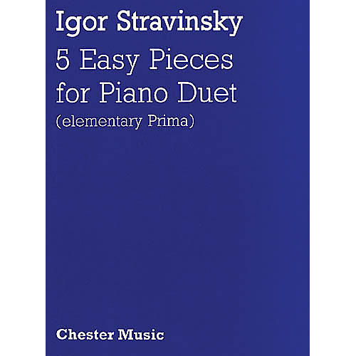 Music Sales Igor Stravinsky: Five Easy Pieces Music Sales America Series thumbnail