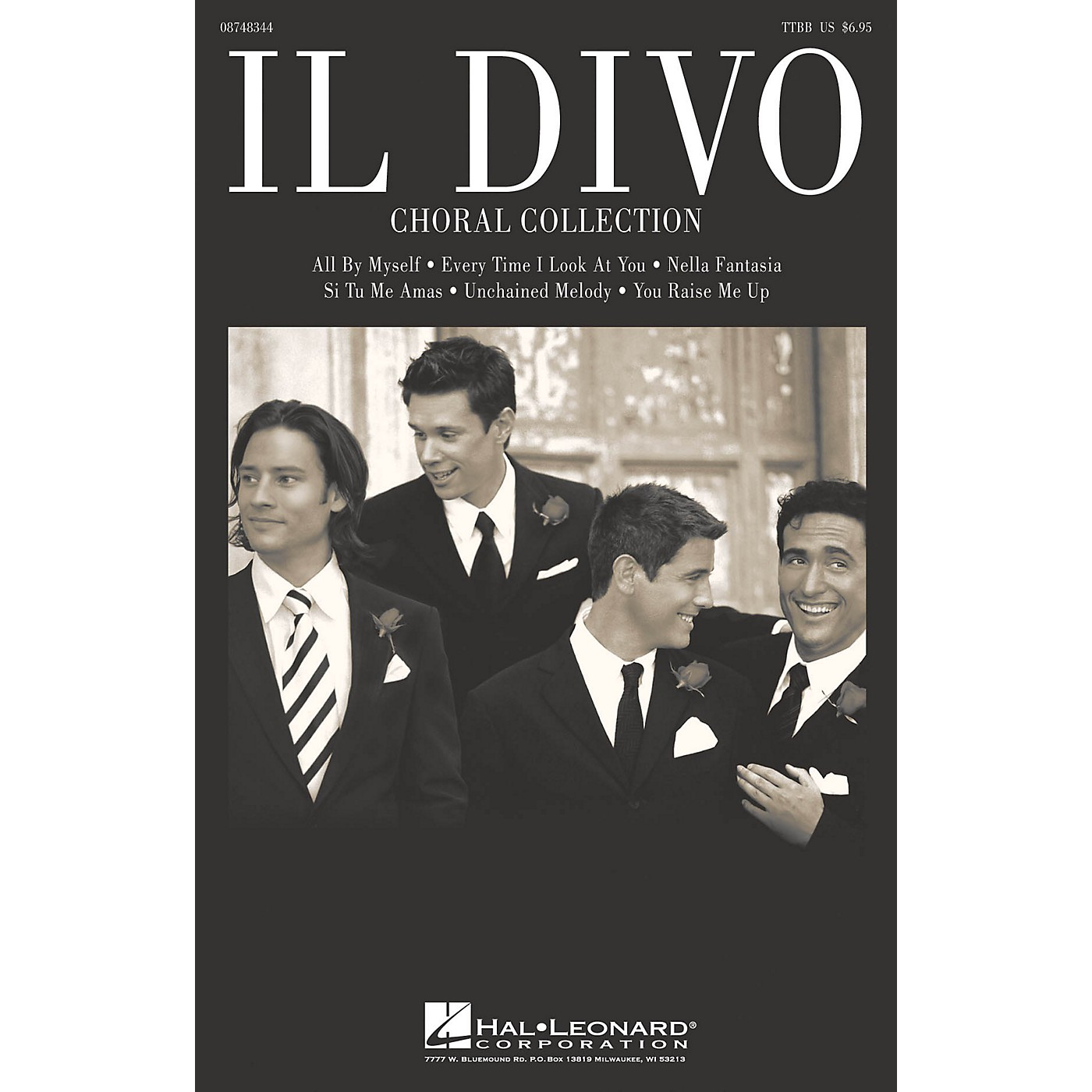 Hal Leonard Il Divo (Choral Collection) TTBB Collection by Il Divo thumbnail