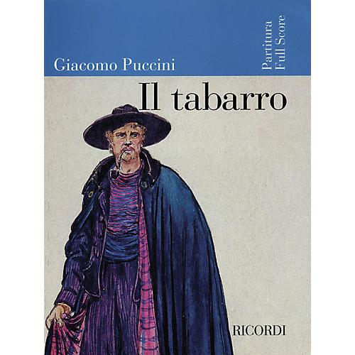 Ricordi Il Tabarro (Full Score) Misc Series  by Giacomo Puccini thumbnail