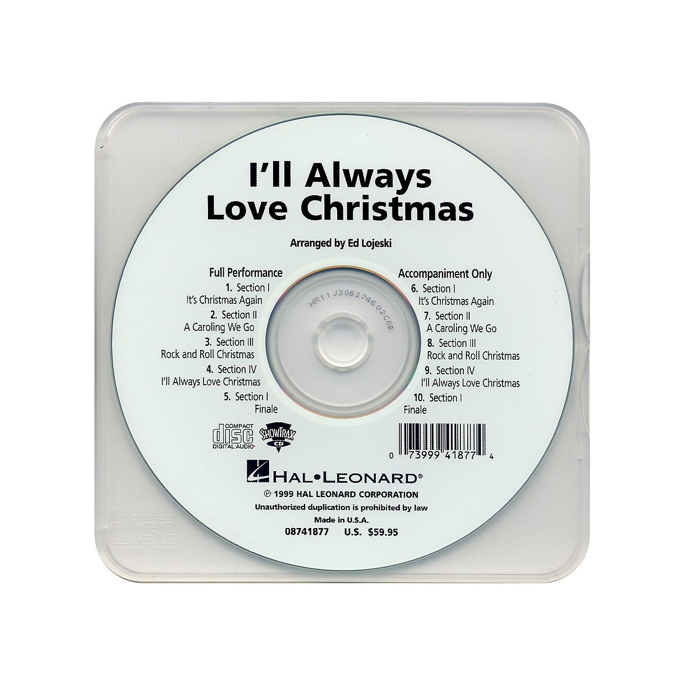 Hal Leonard I'll Always Love Christmas - Performance CD thumbnail