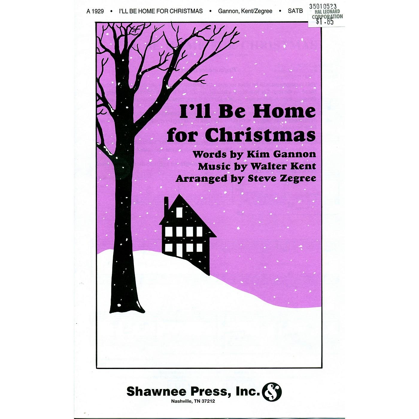 Hal Leonard I'll Be Home For Christmas SATB thumbnail