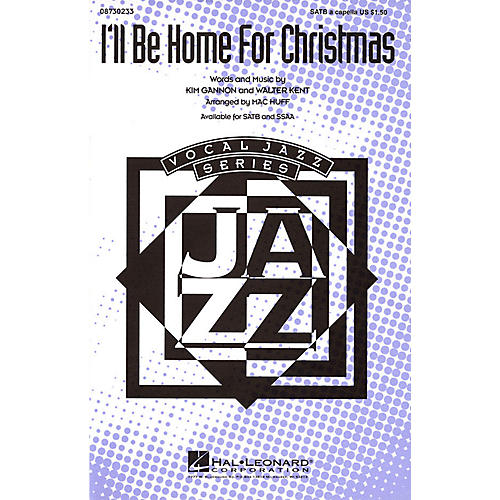 Hal Leonard I'll Be Home for Christmas SSAA A Cappella Arranged by Mac Huff thumbnail