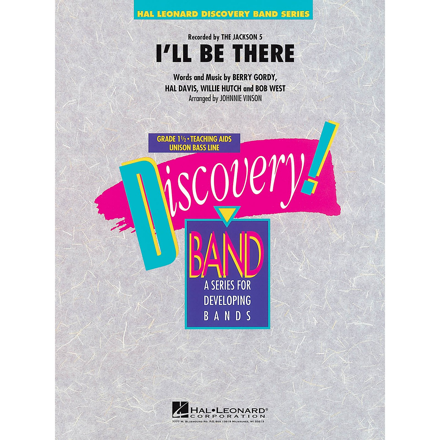 Hal Leonard I'll Be There - Discovery! Band Level 1.5 thumbnail
