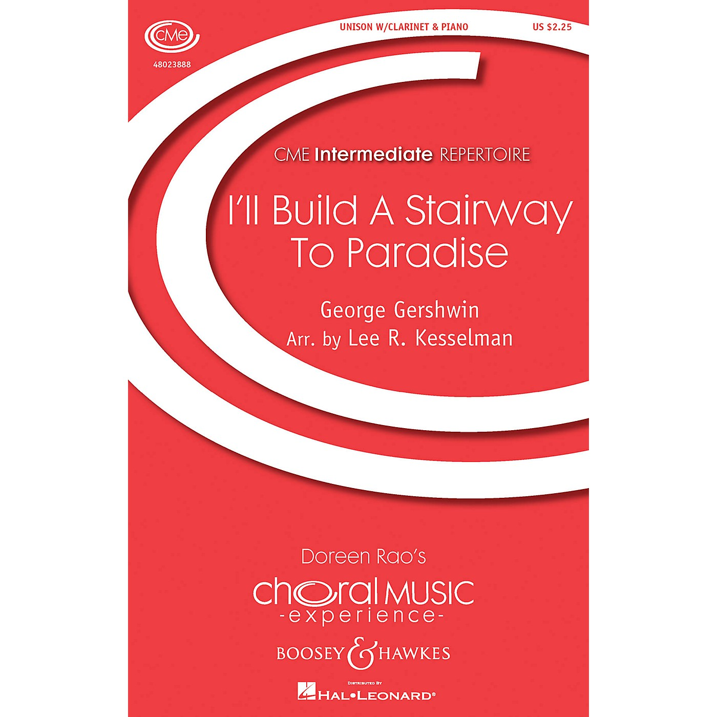 Boosey and Hawkes I'll Build a Stairway to Paradise UNIS composed by George Gershwin arranged by Lee R. Kesselman thumbnail